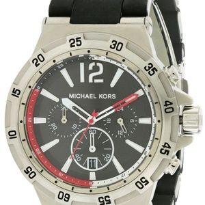 Michael Kors Men's Melbourne Chronograph Black